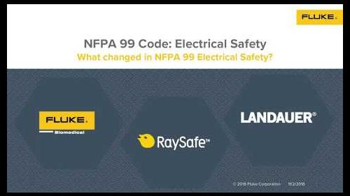 What changed in the NFPA 99 Electrical Safety?
