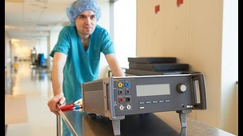 Verify the performance and safety of electrosurgical units.