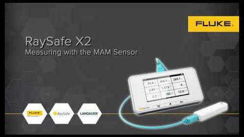 The X2 MAM sensor possesses precision in dose and HVL that enables the user to obtain important readings.