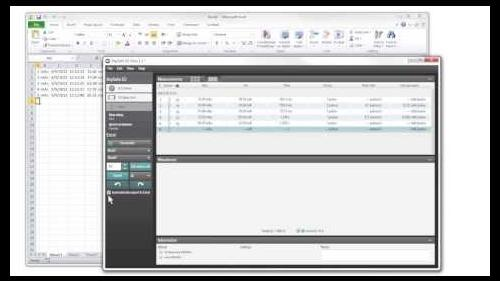 Video guide on how to use X2 view to send data to excel while doing measurements. Subtitles in several languages.