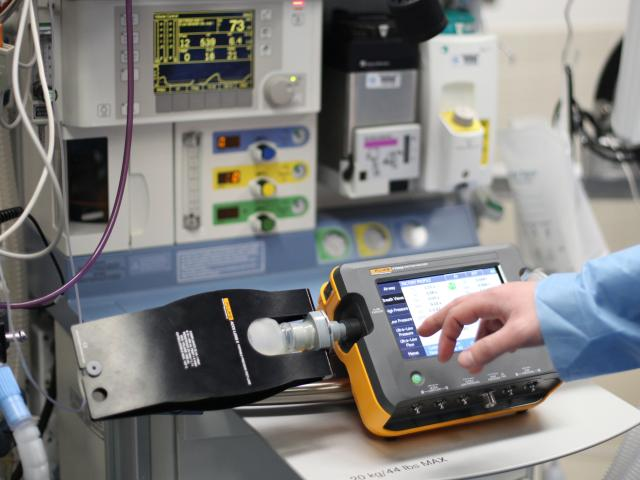 Vt900a Gas Flow Analyzer Fluke Biomedical