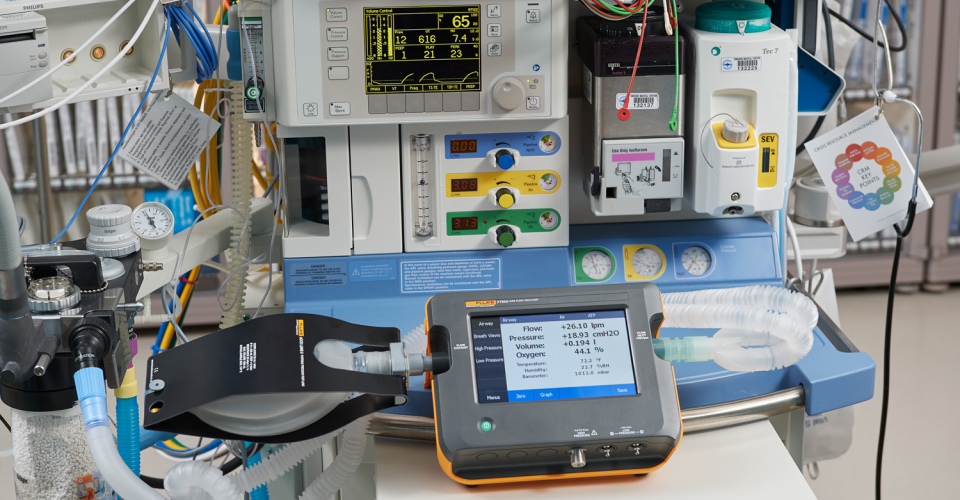 VT650 Gas Flow Analyzer | Fluke Biomedical
