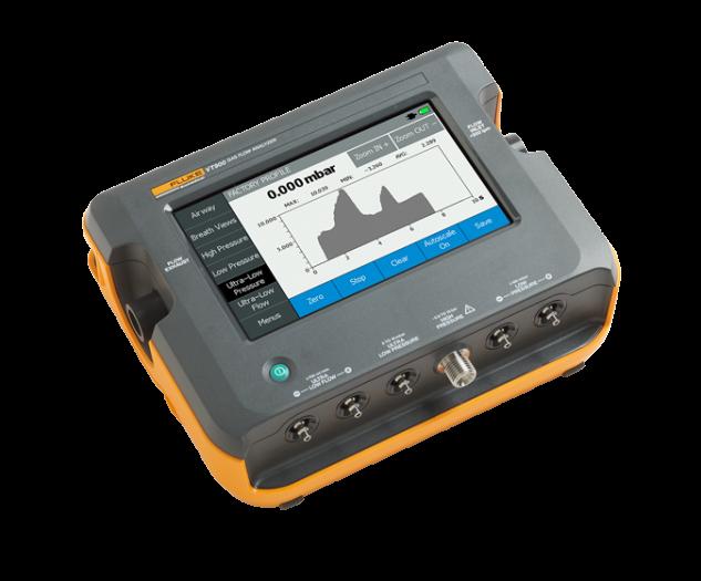 VT900 Gas Flow Analyzer   Fluke Biomedical