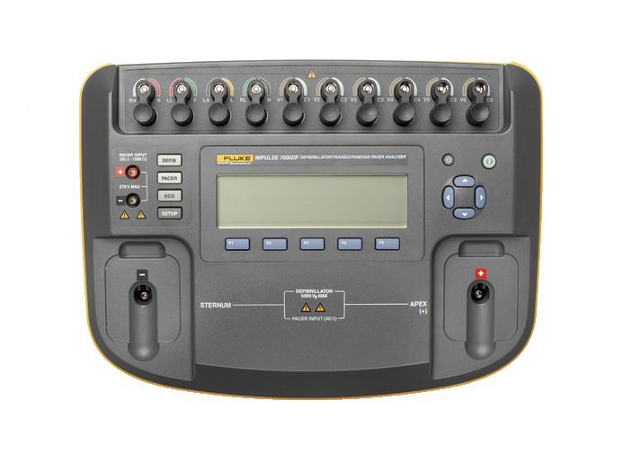Impulse 7000DP Defibrillator/Transcutaneous Pacemaker Analyzer
