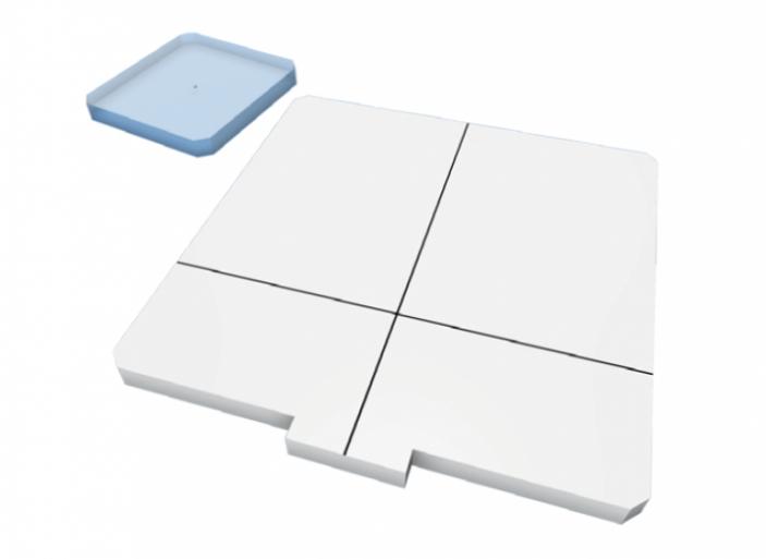 RaySafe Pro-stand Inlay