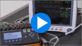 In-depth demonstration on how to test using the Fluke Biomedical ProSim 8 Vital Signs Patient Simulator