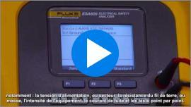L'analyseur de sécurité électrique ESA609 est un robuste, portable, facile à utiliser analyseur conçu pour les essais générale de la sécurité électrique.