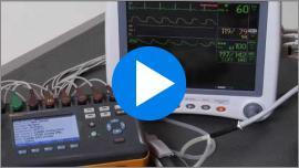 Evaluación del monitor del paciente con ProSim 8