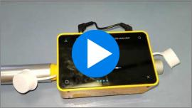 Justin Ross shows how to calibrate gas flow using a Fluke Biomedical VT 305