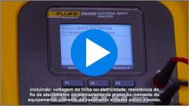 Apresentando o ESA609 Segurança Elétrica Analyzer