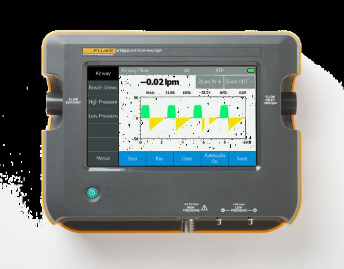 VT650 Gas Flow Analyzer Ventilator Tester
